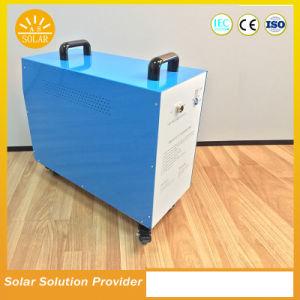 600W-80ah Système d'alimentation solaire avec un téléphone à des fins commerciales de charge