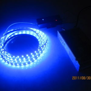 Color blu SMD3528 LED Strip con il LED Power Supply