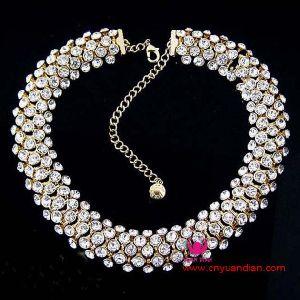 Collana di pietra di cristallo (NY00629)