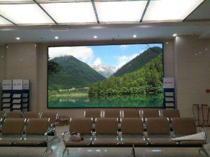 Ultra-fin de la publicité intérieure Super-Light Afficheur à LED pour la location de P5