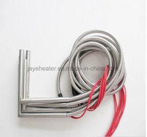 Правый угол металлическая оплетка провода патронных нагревателей