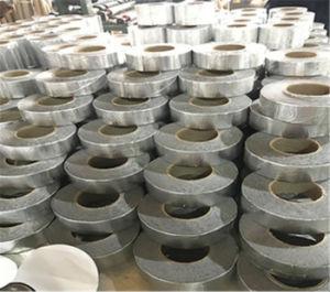 De koude Toegepaste Butyl Band die van het Aluminium Zelfklevende Opvlammende Band voor het Openen en Hoek waterdicht maken