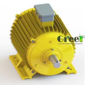 A bajas revoluciones 100kw hidro generador de imán permanente de uso