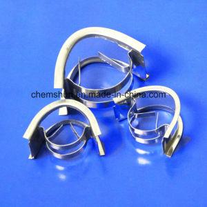 Кольцо завесы SS304 как упаковка башни химически металла случайно