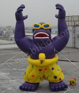 Advertisement (K2029)のために広告するInflatblesを、Giant Balloon Gorilla