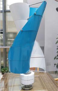 200W espiral da turbina eólica Vertical Gerador eólico Vertical 12V/24V Dg-Sv-200W