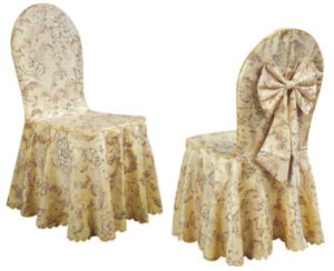 Banquet de mariage de l'hôtel Président couvercle et capot table