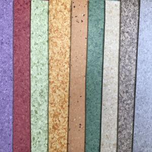 Anti-Static Antiderrapantes Anti-Bacterial Vinil PVC piso homogénea para o Hospital