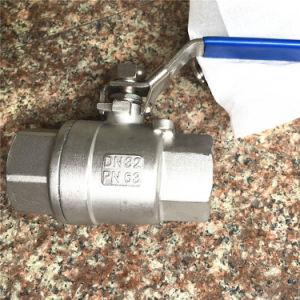 BACCANO Stainless Steel 2PC Ball Valve con Bsp Threaded Estremità