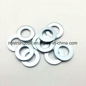 DIN125une rondelle plate avec le blanc en zinc plaqué Cr3+ M30