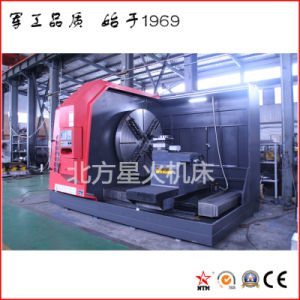 Tornio di CNC di alta qualità per il mandrino di giro del disco del metallo (CK61160)