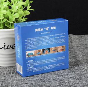 La lamination matte goût sucré et de la boîte de sucre de Cube Case de l'Emballage Emballage paille en plastique