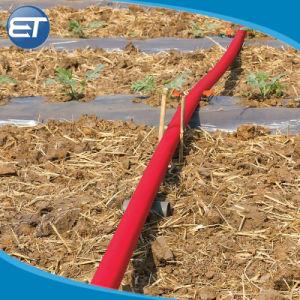 ホースPVC Barided農業の潅漑の滴りのLayflatのカスタマイズされた6インチによって置かれる平らなホース