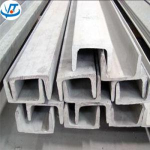 ASTM A580 Roestvrij staal 430 de U-balk van U met 200X75mm