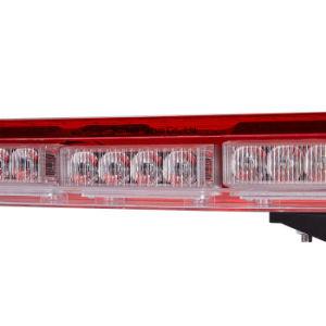 Luxueuze 121mm Uiterst dunne Moderne LEIDENE van Senken Politie die Lichte Staaf waarschuwen