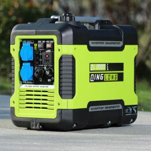 De elektro Enige Generator AC van de Benzine van de Omschakelaar van het Begin 3kw Duurzame Stille