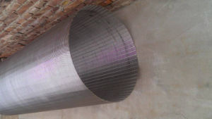 Keil-Draht-Bildschirm-Zylinder/zylinderförmiger Bildschirm/Quellfilter