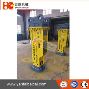 Sb81Aの26tonsキャリアのための土工の機械装置の石のブレーカ