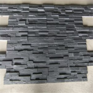 De zwarte Tegel van de Lei van de Steen van de Cultuur Ledgestone/voor de Bekleding van de Muur
