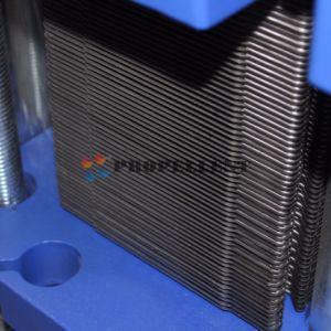 エタノールのための自由な流れAISI316の版の熱交換器