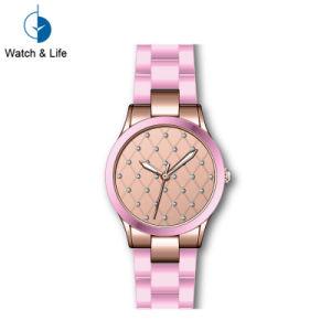 Mesdames Watch de mode en céramique colorée montre-bracelet de femmes