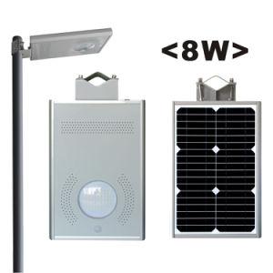 Nsp08Wの太陽電池パネルが付いている太陽街灯