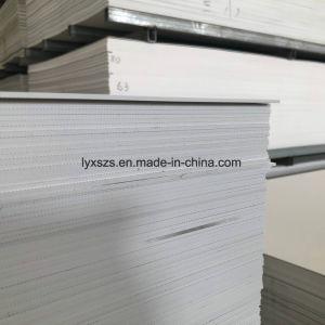 Carrelage de marbre du panneau de revêtement mural ou au plafond Feuille d'estampage à chaud