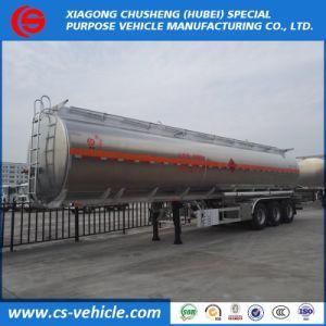 軽い風袋重量のディーゼル輸送の重油タンク3車軸40 CBMのアルミニウムタンカーのトレーラー