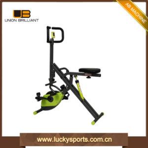 Scricchiolio addominale del corpo di totale della strumentazione di forma fisica di ginnastica con la bici di X