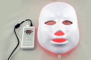 La terapia de luz de la belleza facial rejuvenecimiento de la piel Mascarilla facial de LED
