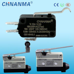 Tipo de Empuje Eléctrico Botón Autoreiniciable On Off Interruptor de Palanca