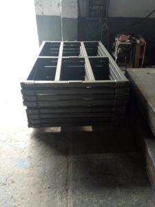 Châssis de la soudure en acier