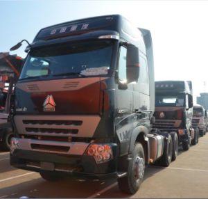 판매를 위한 Sinotruk HOWO A7 트랙터 트럭 6X4 트레일러 헤드 트럭