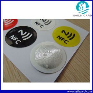 (6PCS) Pet NFC Tag Stickers Adhesive RFID Tags Label