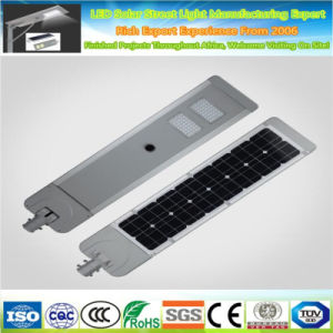 12V 30W High Power LED integrado todo en una calle la luz solar