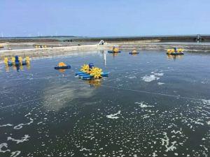 魚のための外車の通風器の4インペラーYc-1.5の増加の酸素