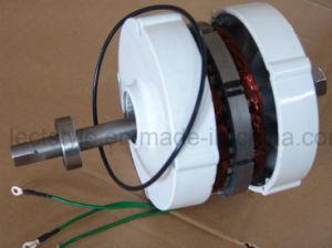 12V 24V 600W de la tierra rara sin escobillas de baja velocidad del generador de imanes permanentes