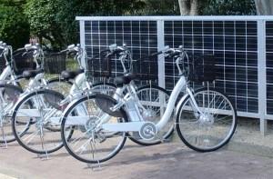 Le vent solaire système hybride pour vélo électrique Pit