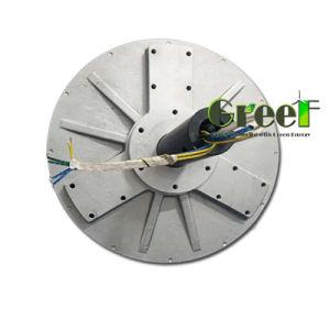 1000W 1Kw 300rpm bajas rpm bajo par el bajo peso Coreless generador eólico de imán permanente, de Flujo Axial Generador Coreless