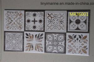 Wit/Grijs/Zwart/Rood/Roze/Bruin/Koffie/Gele/Beige/Gouden Marmeren Tegel voor Muur