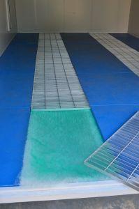 Novo produto na China grande cabine de spray/ cabine de pintura de automóveis