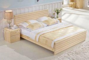 Festes hölzernes Bett-moderne Betten (M-X2750)