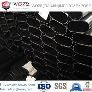 80*120mmの完全で黒い長方形の管の管