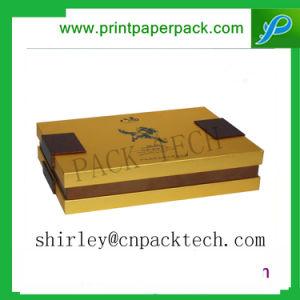 Деликатный индивидуальные золотой прямоугольник роскошные подарки Упаковка чая в салоне
