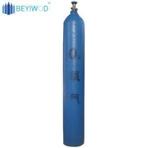 cilindro d'acciaio di maturazione O2 della bombola per gas del cilindro di ossigeno 40L
