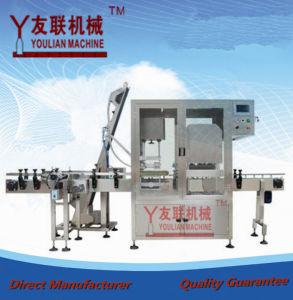 Bzx-980 una máquina utomatic cristal Bottlethree-Cabezas de vacío que capsula
