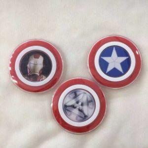 El Capitán América la almohadilla de carga inalámbrica