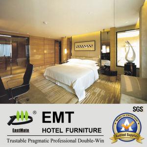 Positionnement de chambre à coucher moderne d'hôtel luxueux d'étoile (EMT-C1204)