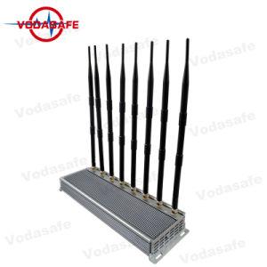 Hoge Macht 8 GSM Cellphone 2g 3G 4G CDMA van het Kanaal de Cellulaire Stationaire Stoorzender van het Signaal, Stoorzender voor GPS VHF UHF van WiFi van de Telefoon van de Cel 3G 4G