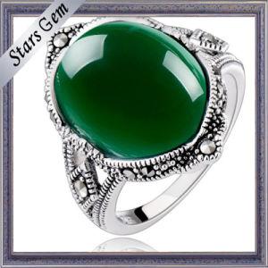 Le meilleur Top Grade vert profond Agate pour paramètre de sonnerie